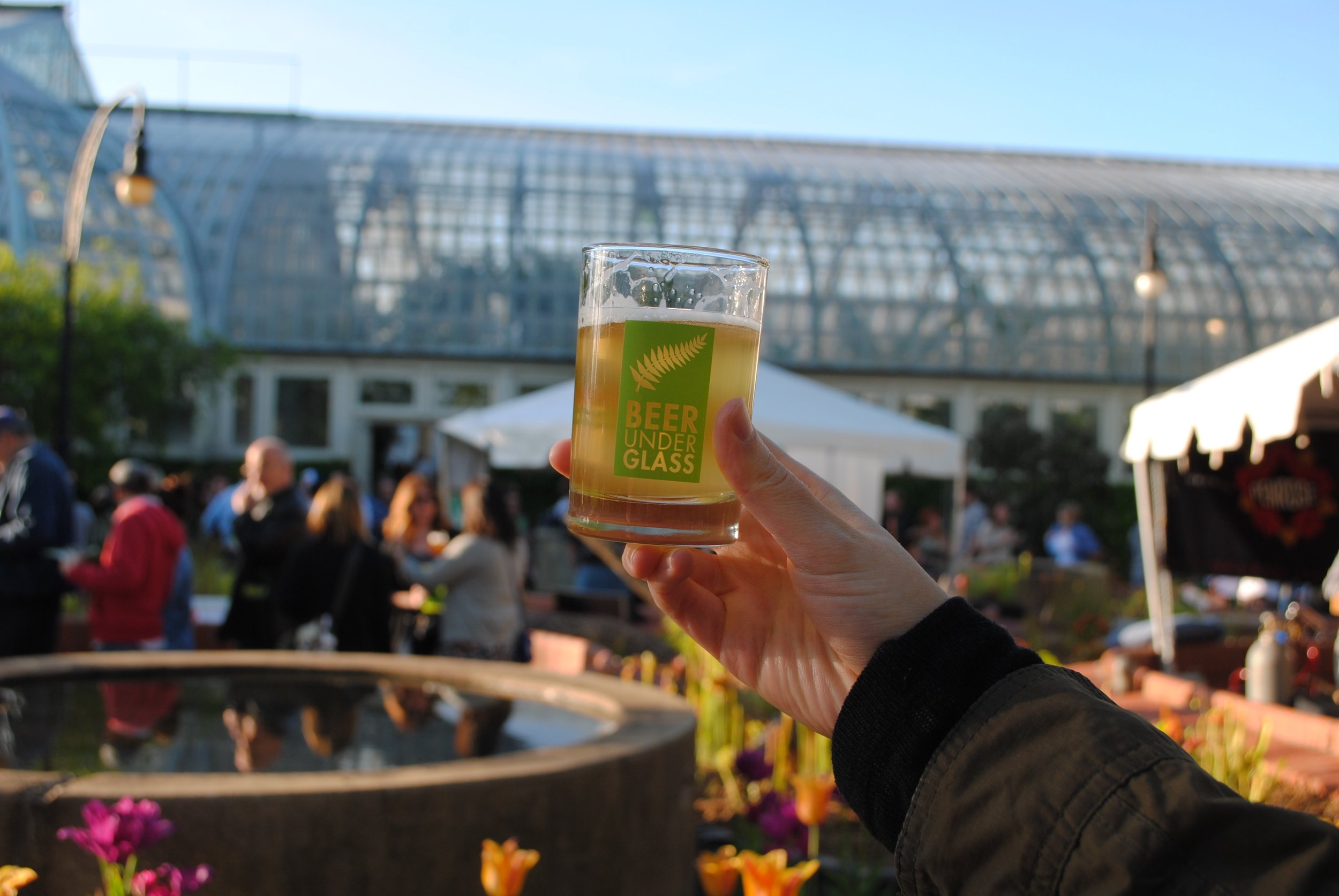 May's 'BUG' had perfect weather, kicking off Chicago Craft Beer Week at Garfield Park Conservatory.