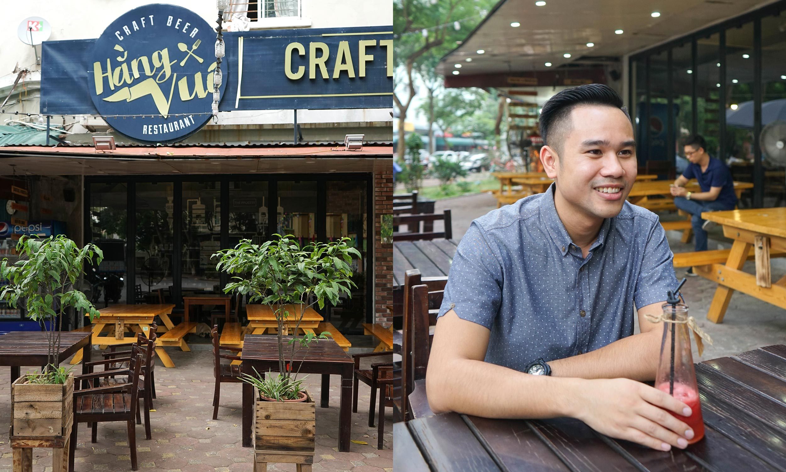 Founder, Quang Van sits down with The Hop Review to discuss the introduction of craft beer to Hanoi