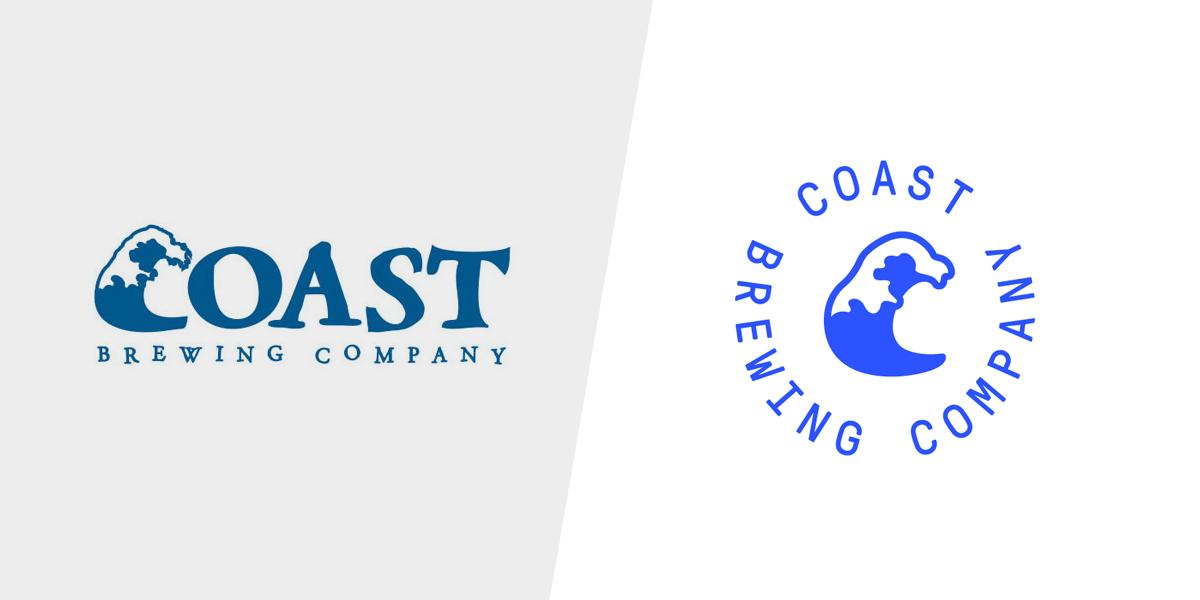 Previous logo vs. New design