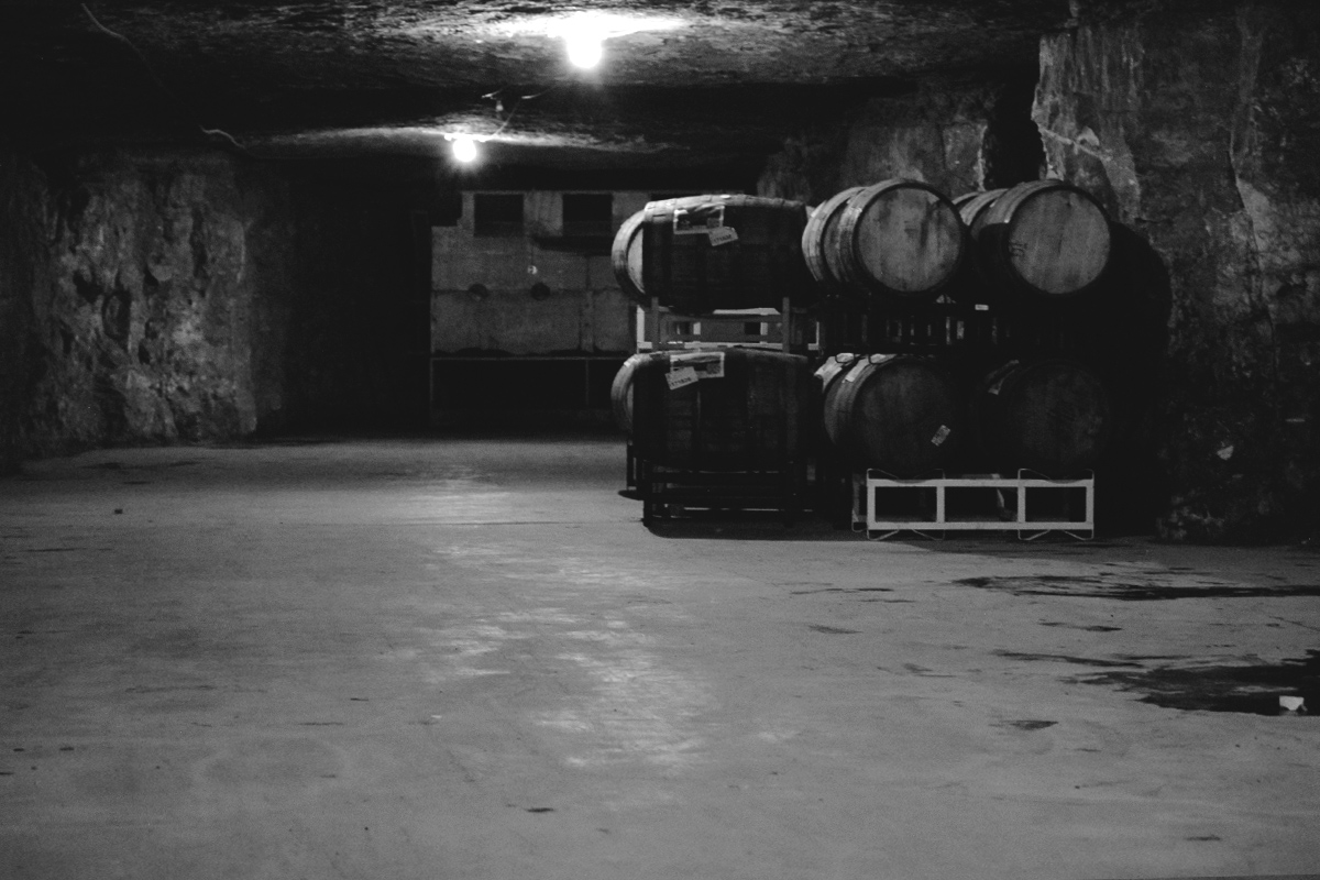 Many of the caves' halls sit mostly empty, after the recent release of Kentucky Breakfast Stout. KBS makes up a majority of the barrels in the caves.