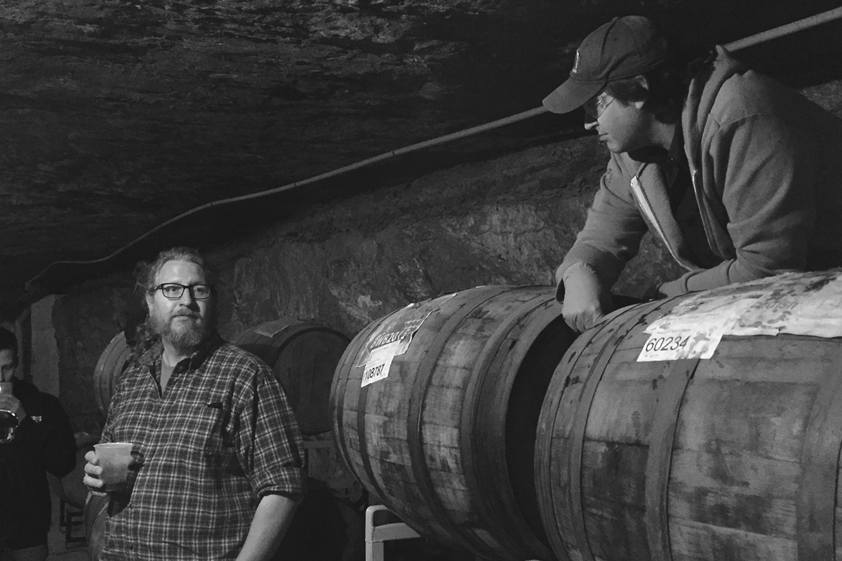 Founder Dave Engbers and Cavemaster Jason Heystek describe their barrel program in the caves.