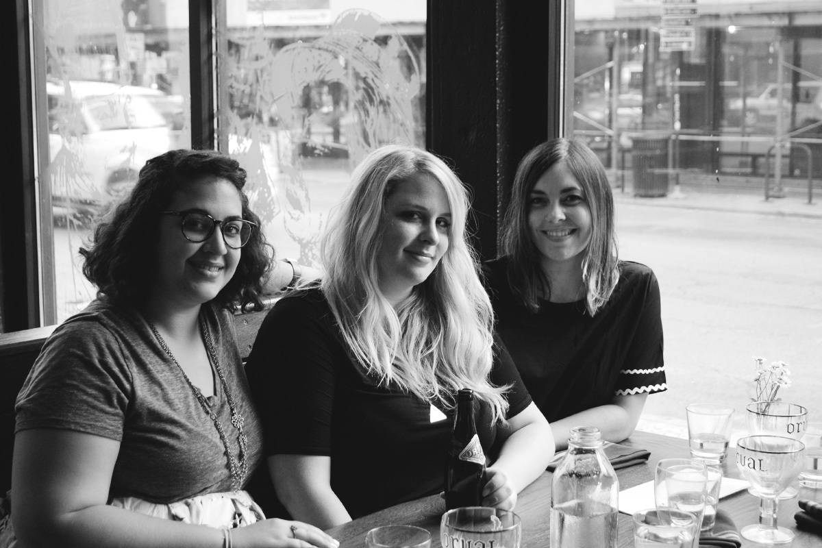 Sarah Wood, Caroline Wallace & Jessica Deahl, authors behindTrappist Beer Travels