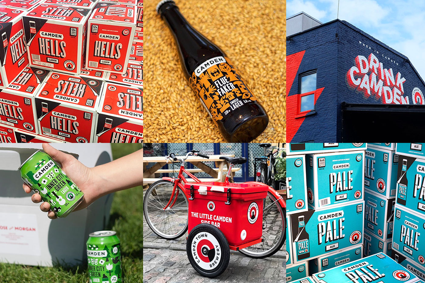 A selection of images from the @camdentownbrewery Instagram.