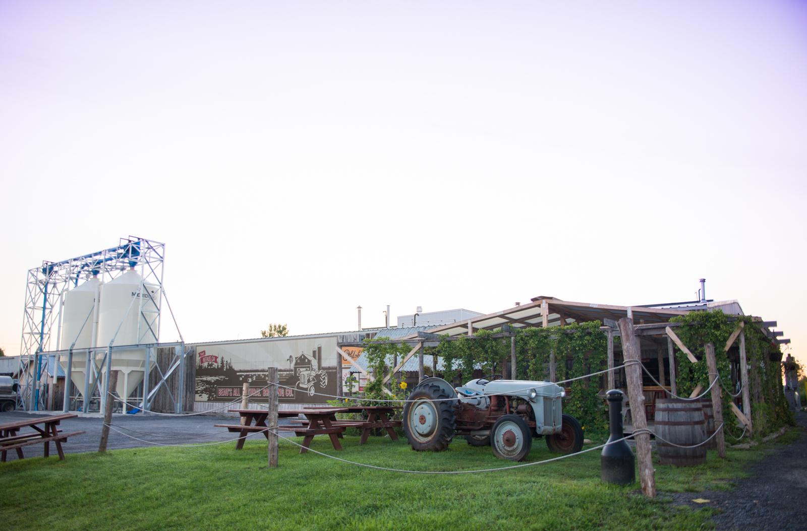 The brewery in Vankleek Hill, Ontario, Canada
