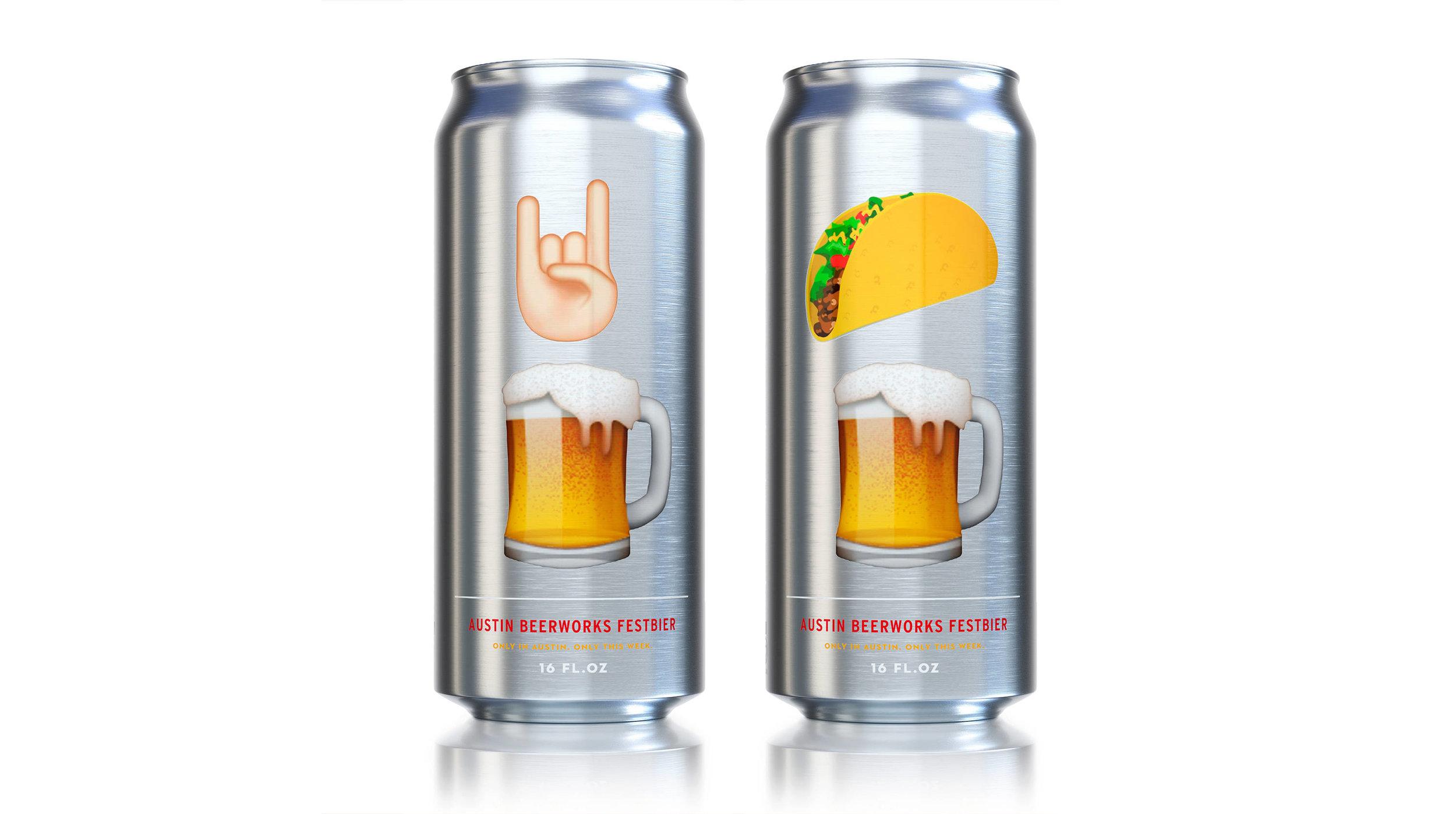 Austin Beerworks SXSW Can Designs