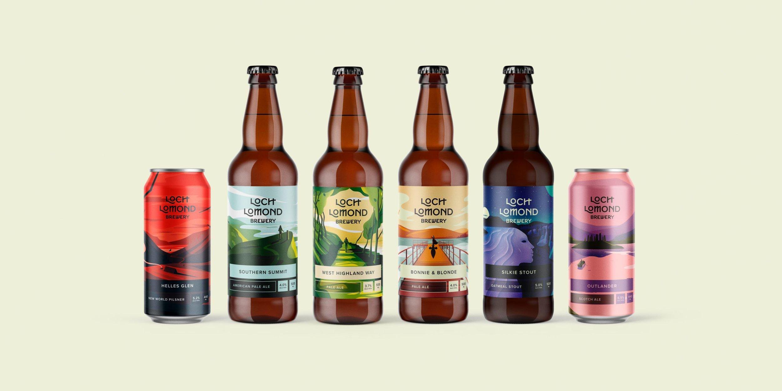 Loch Lomond's  Classic Range  lineup  .