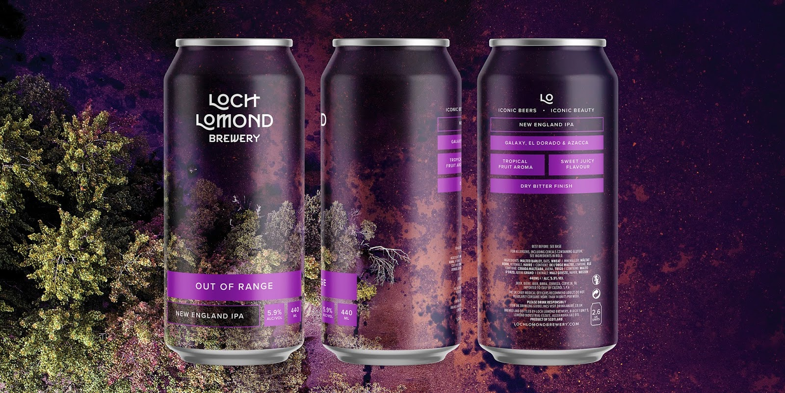 ThirstCraft took the brewery's  Craft Range  lineup in a different direction visually.