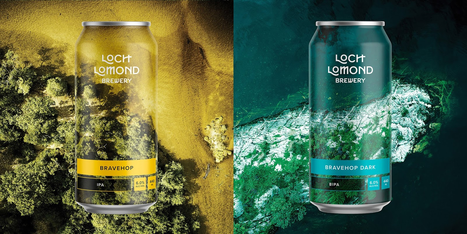 Beer & Branding: Loch Lomond • Hop Culture