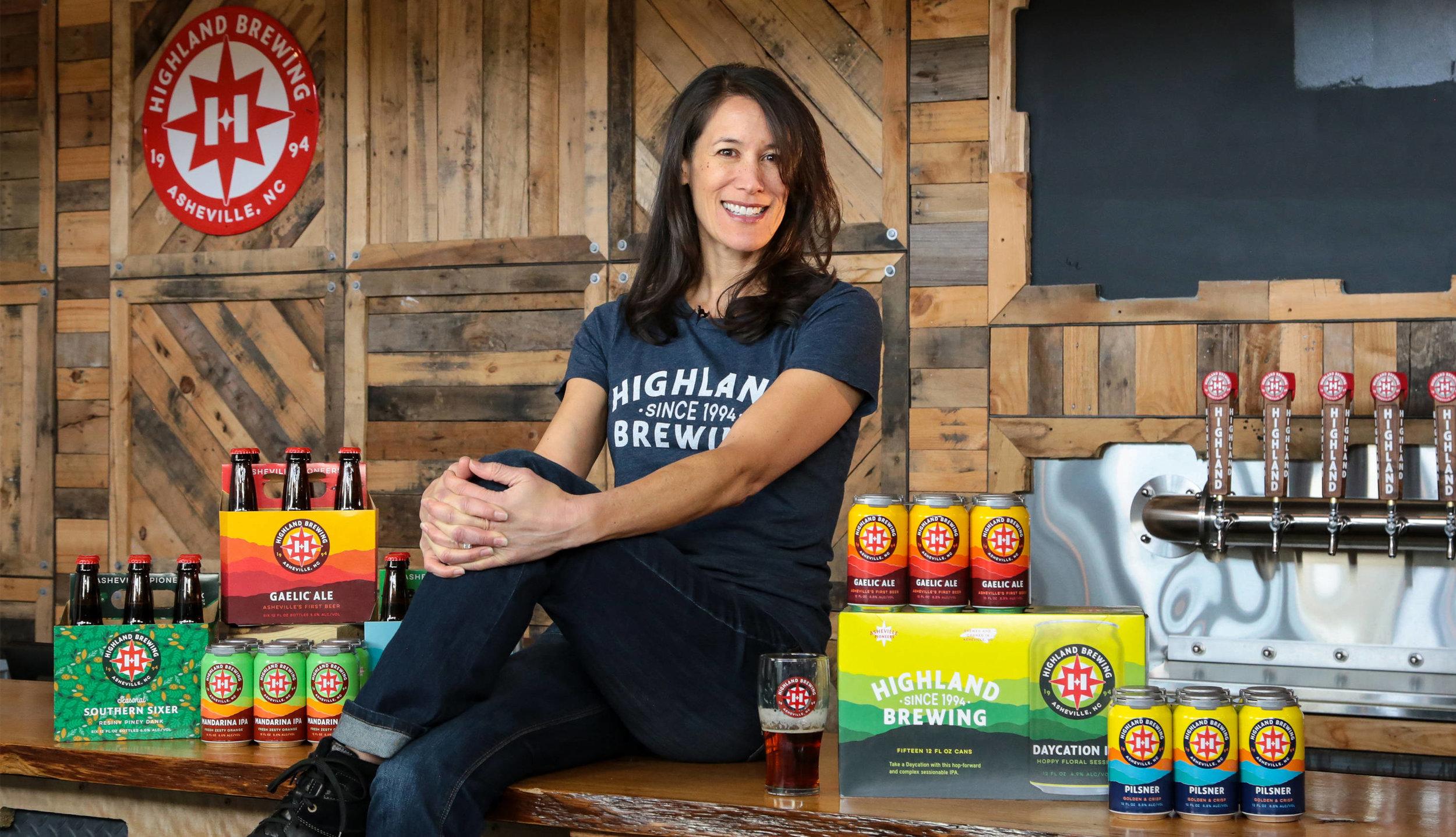 Highland Brewing Owner, Leah Wong Ashburn
