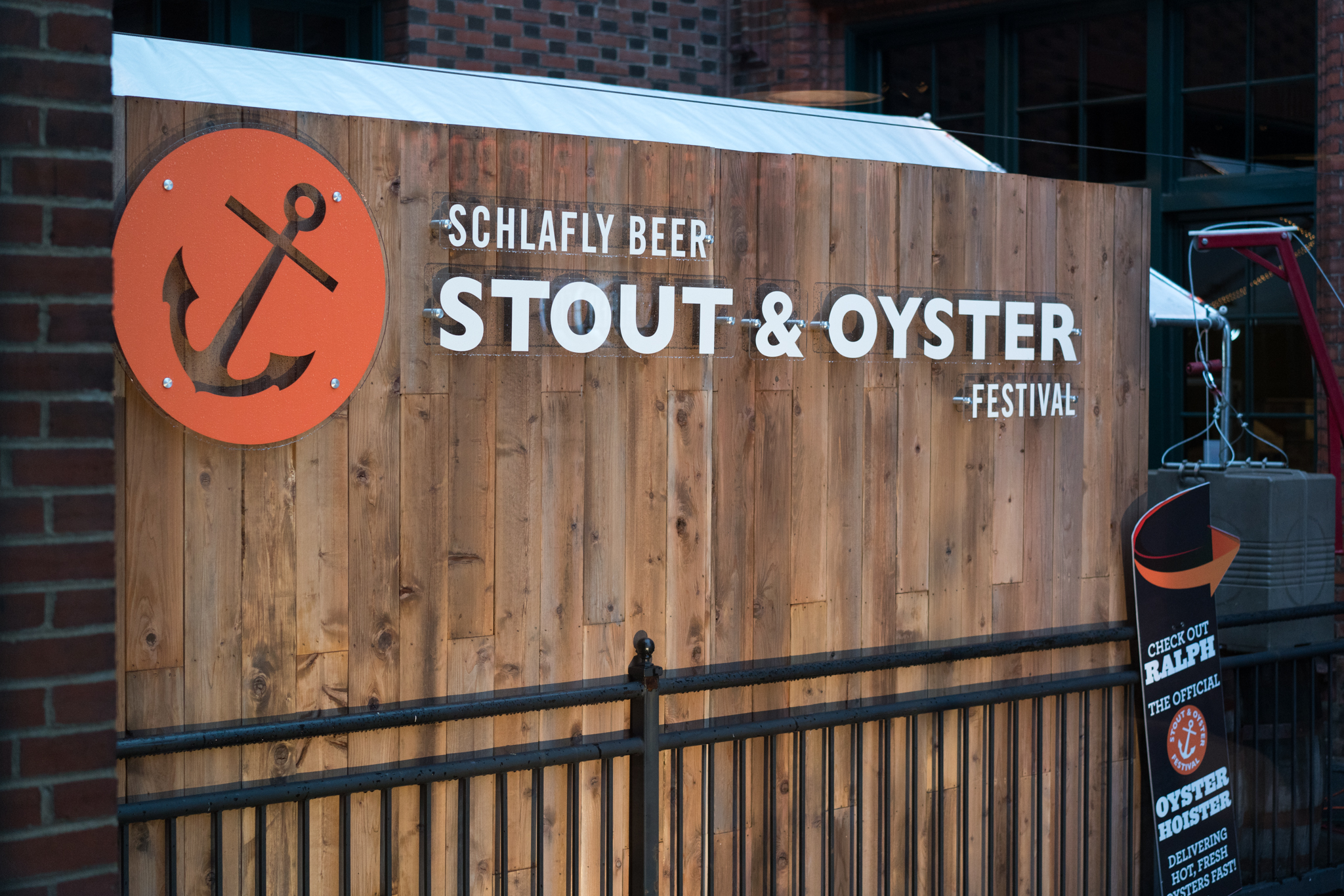 Schlafly's annual Stout & Oyster Festival, held each spring.