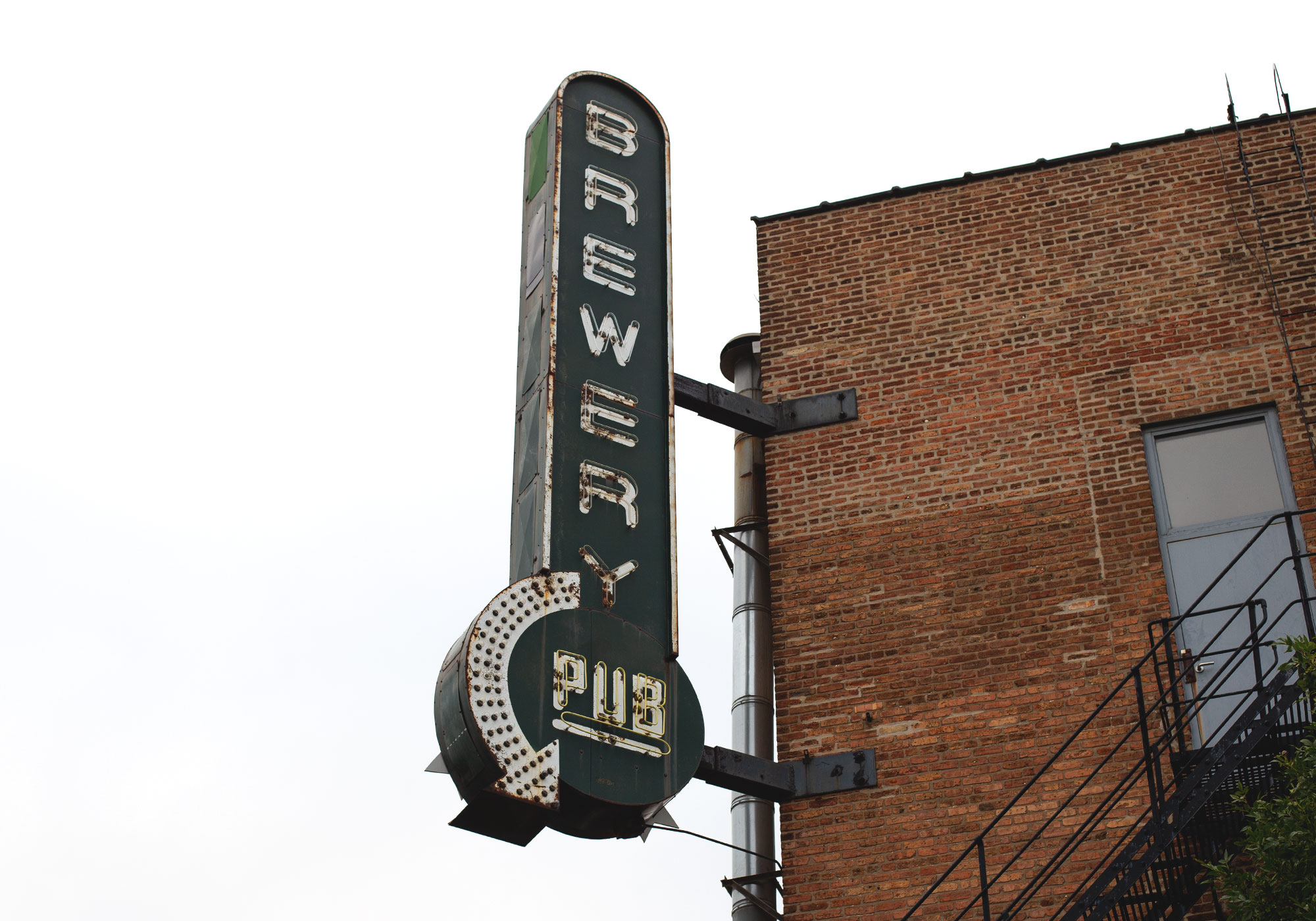 Goose Island's original 'Brewhouse' on Clybourn Ave.–the venue for this year's tasting.
