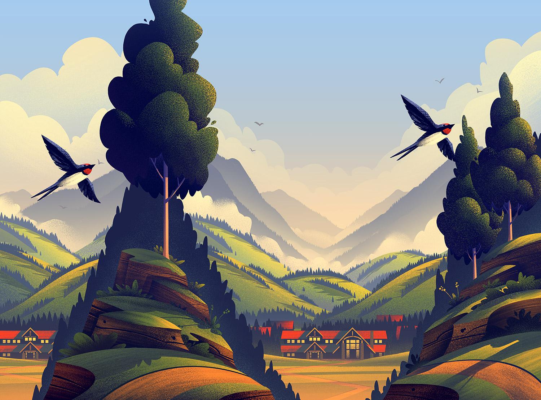 """Vienna Lager"" illustration by Brian Miller"