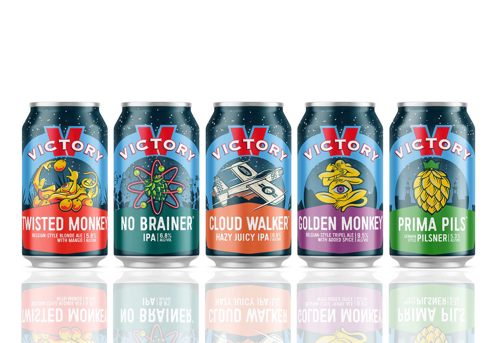 New 12oz can lineup
