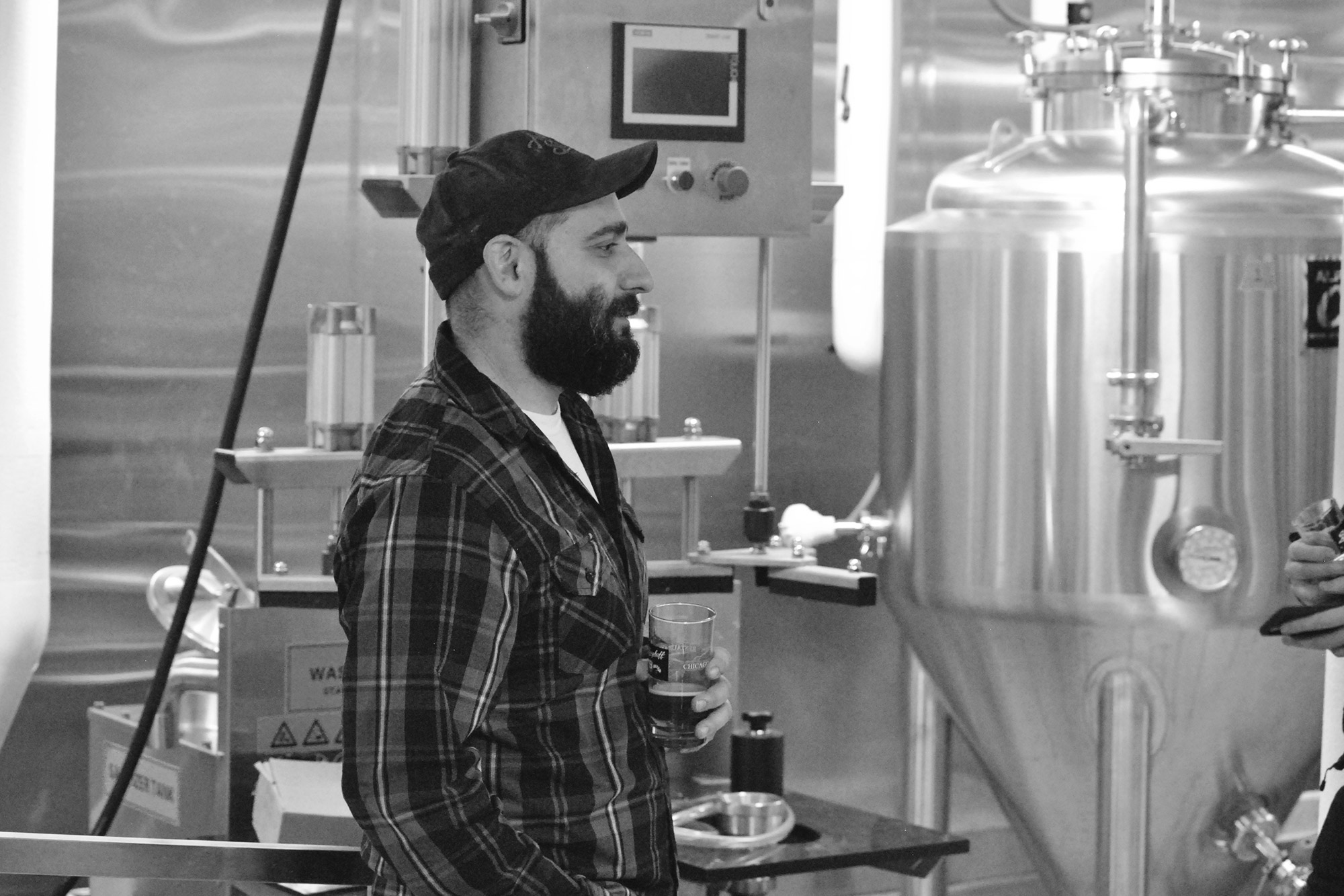 Brewmaster Anthony Coronato.