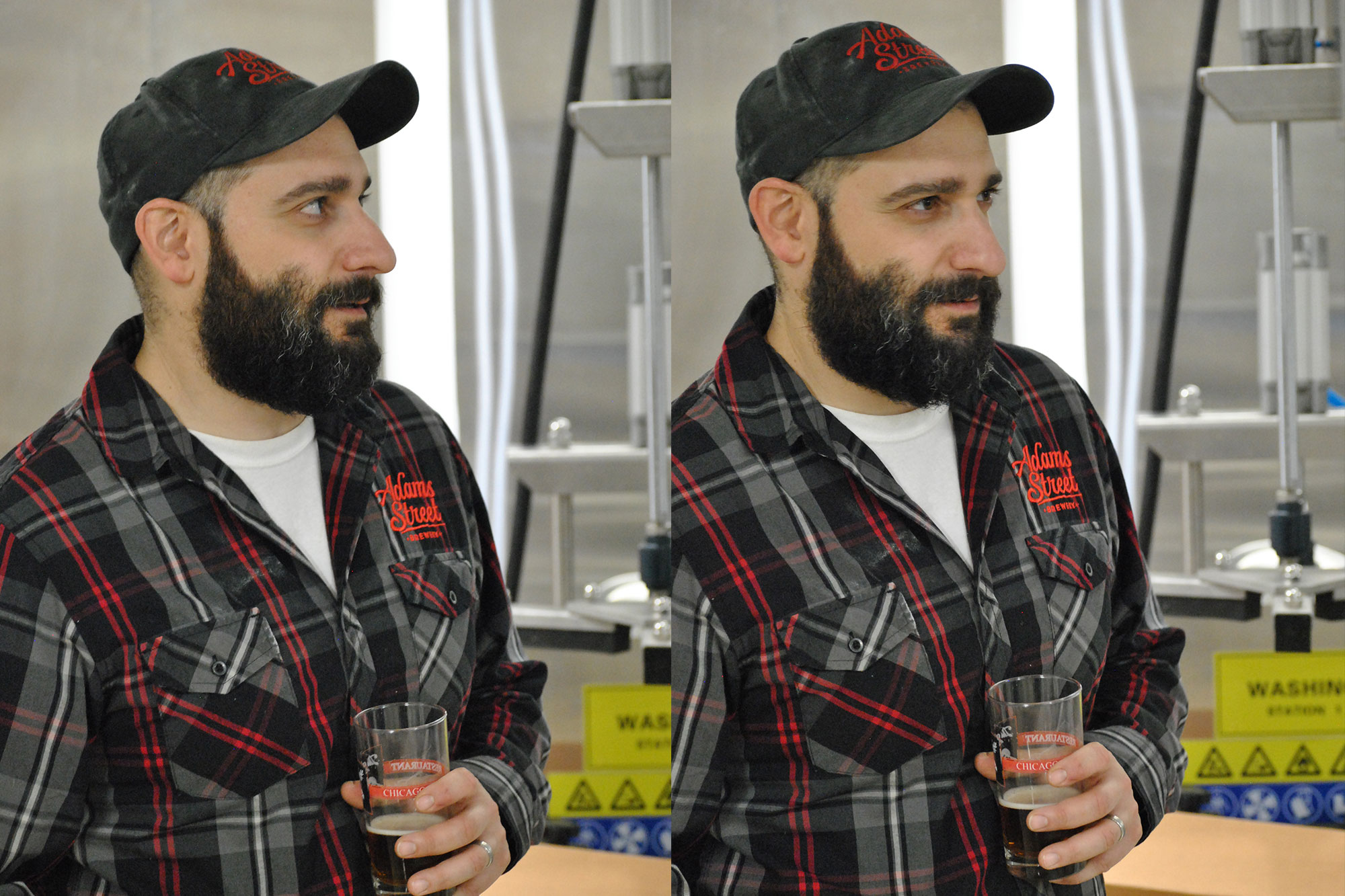 Brewmaster, Anthony Coronato.