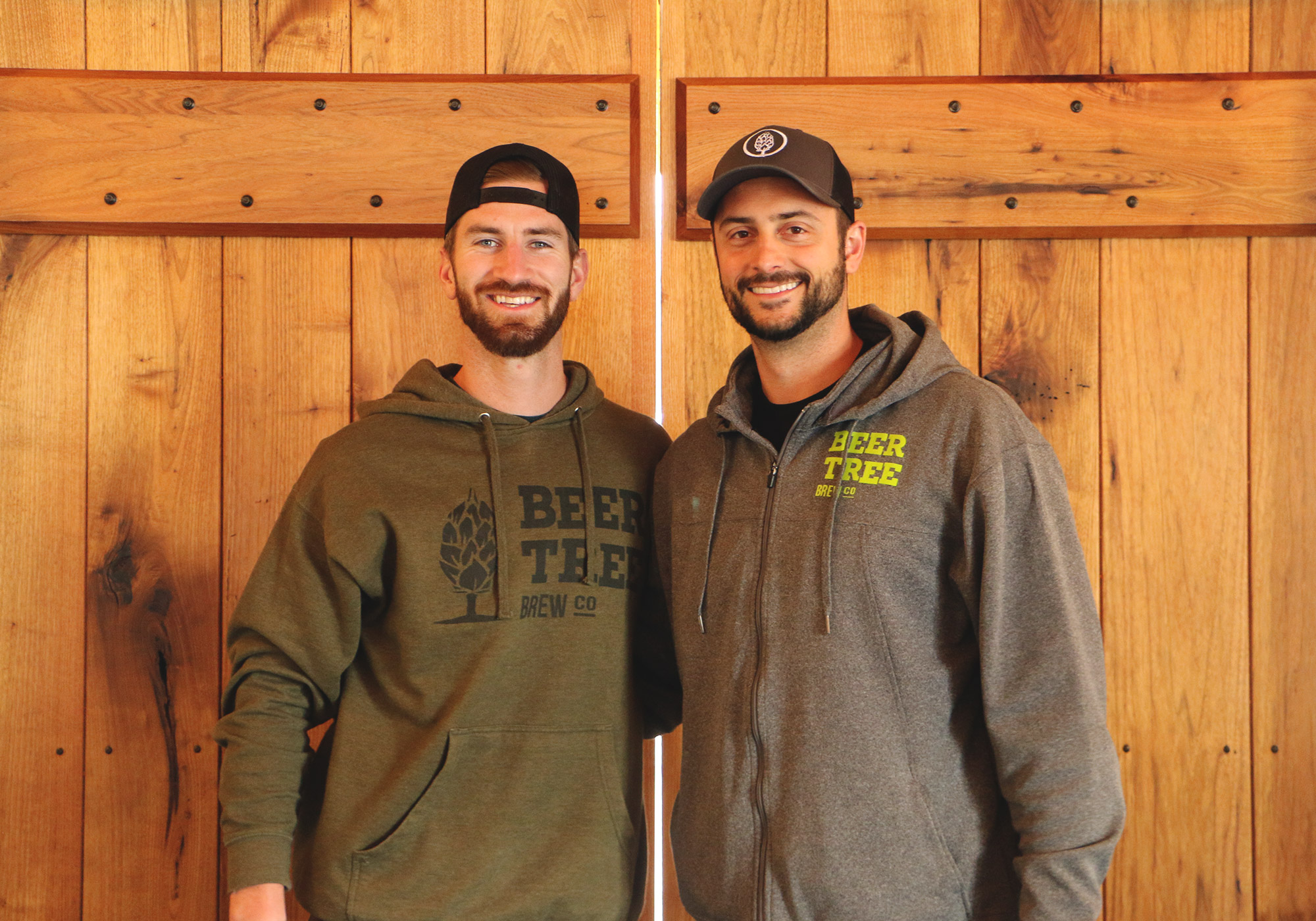 Founders Chris Rhoades and Brendan Harder