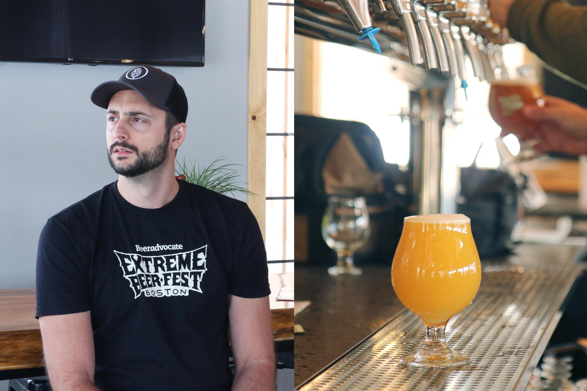 Co-founder & Head Brewer Brendan Harder