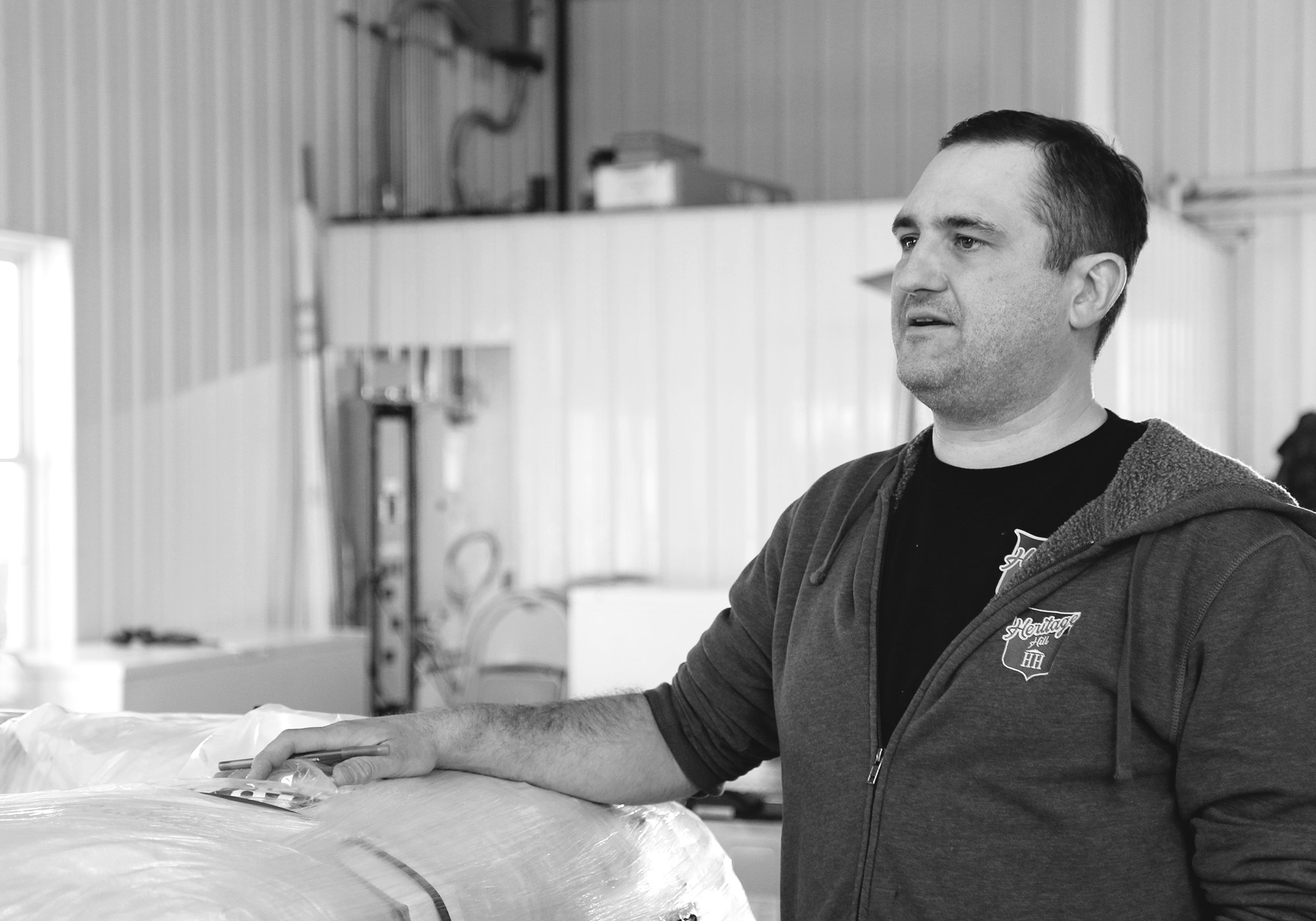 Heritage Hill Brewery (and Palladino Farms) owner, Dan Palladino