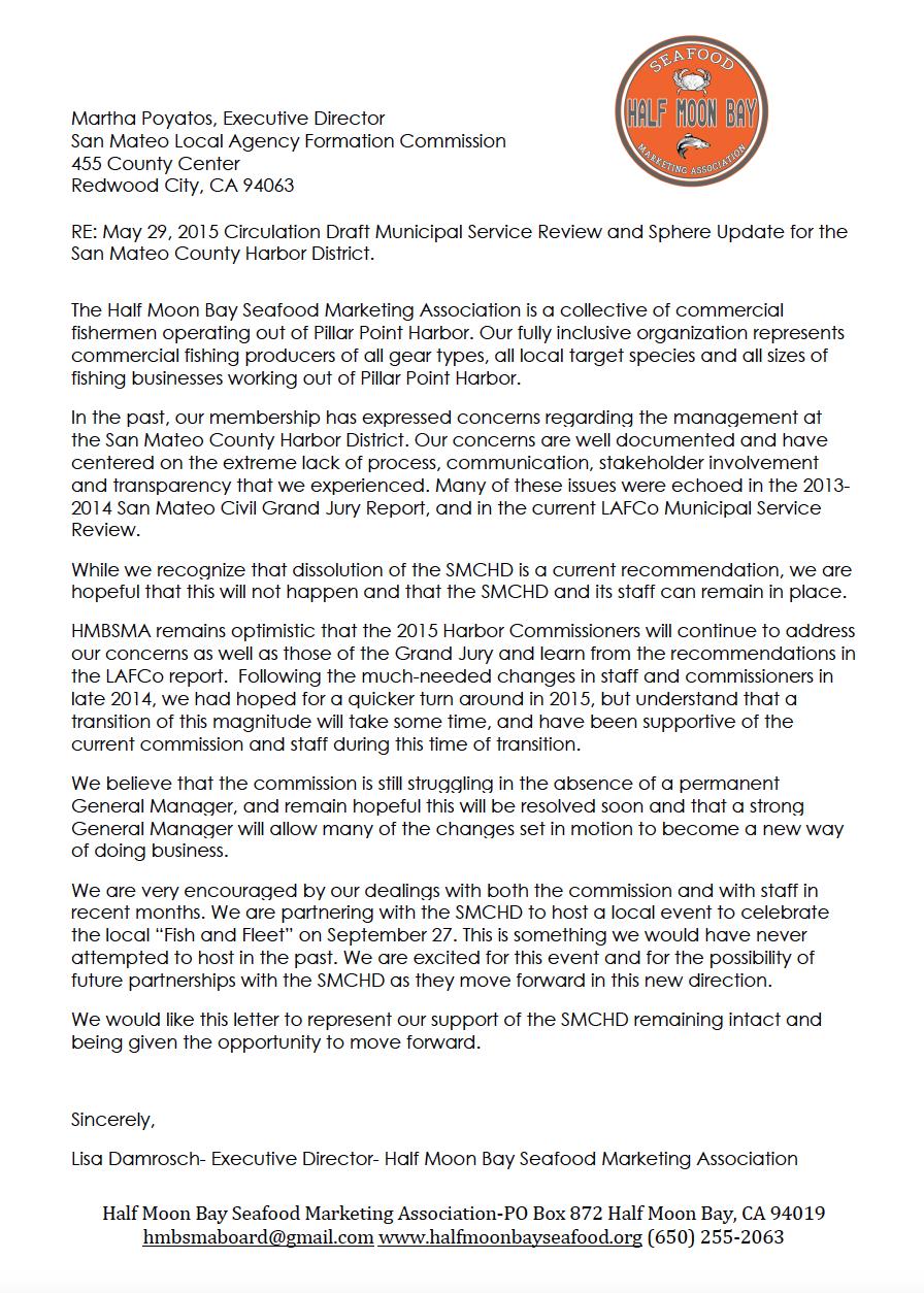 HMBSMA Letter to SMC LAFCo