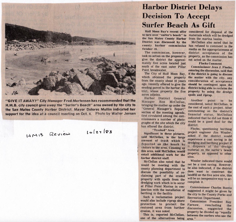 Surfer's Beach HMB Review 1983