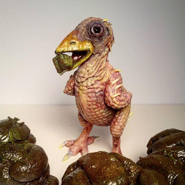 Just finishing this little guy, happy paddy's day everybody💚😄💩 . . . . . #stpatricksday #post #sculpture #contemporaryart #horseandsparrow #trickledowneconomics #birdsofinstagram #eatshit #bird #saturdaynight #daily #instagood