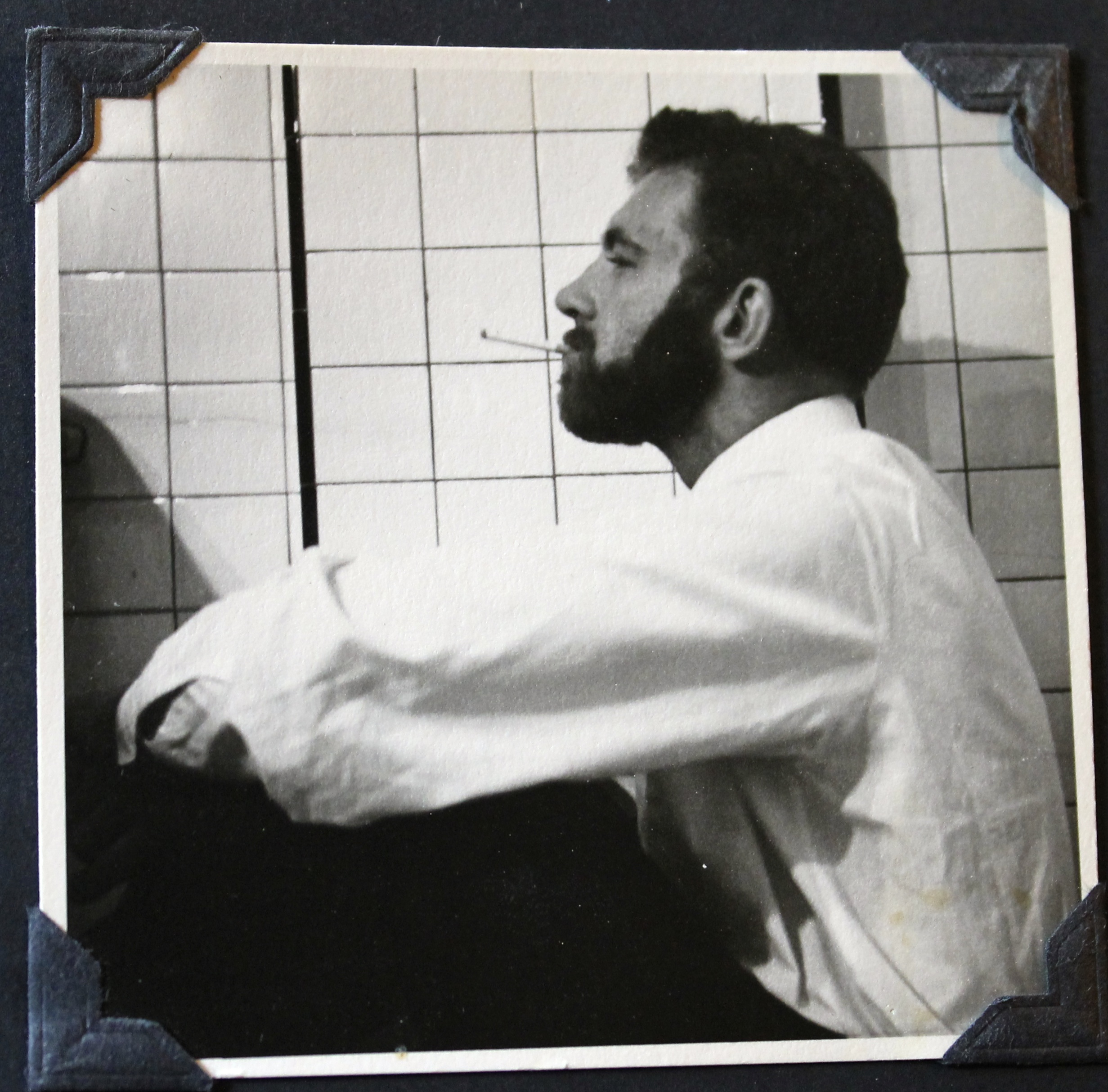 The Quiet Painter, by Michelle Annette Tremblay, Photo of Arne Roosman as a young man courtesy of Arne Roosman
