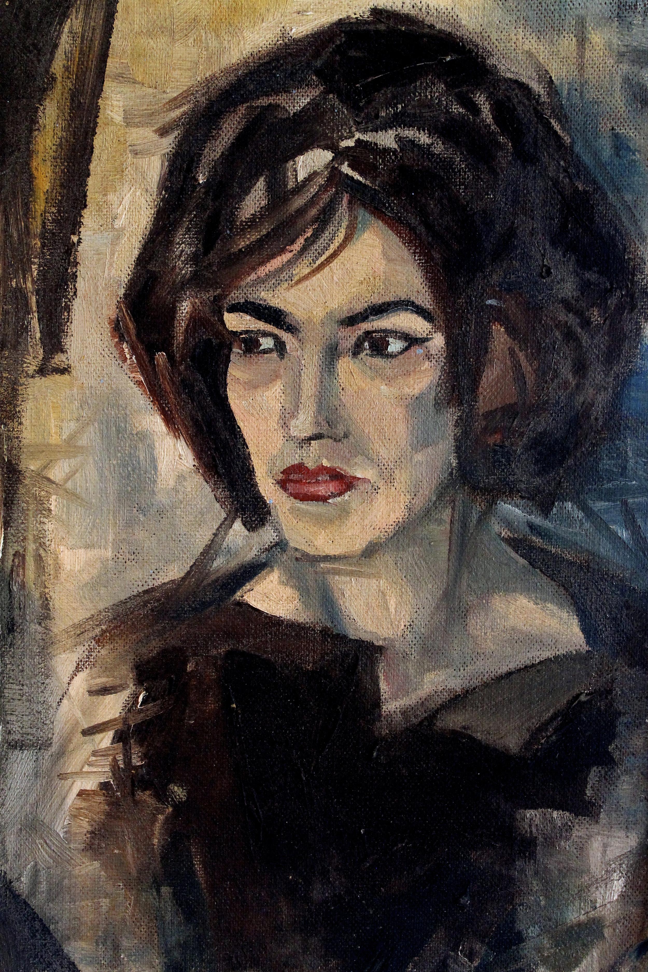 The Quiet Painter, by Michelle Annette Tremblay, Photo of Arne Roosman's original art by Michelle Annette Tremblay