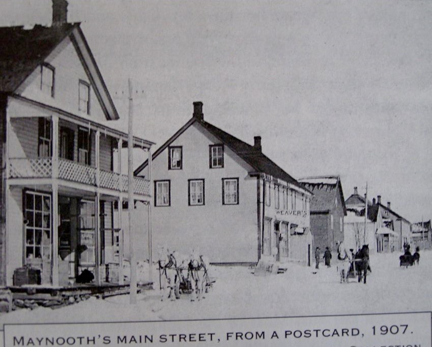 Maynooth Main St1907..before big fire.jpg