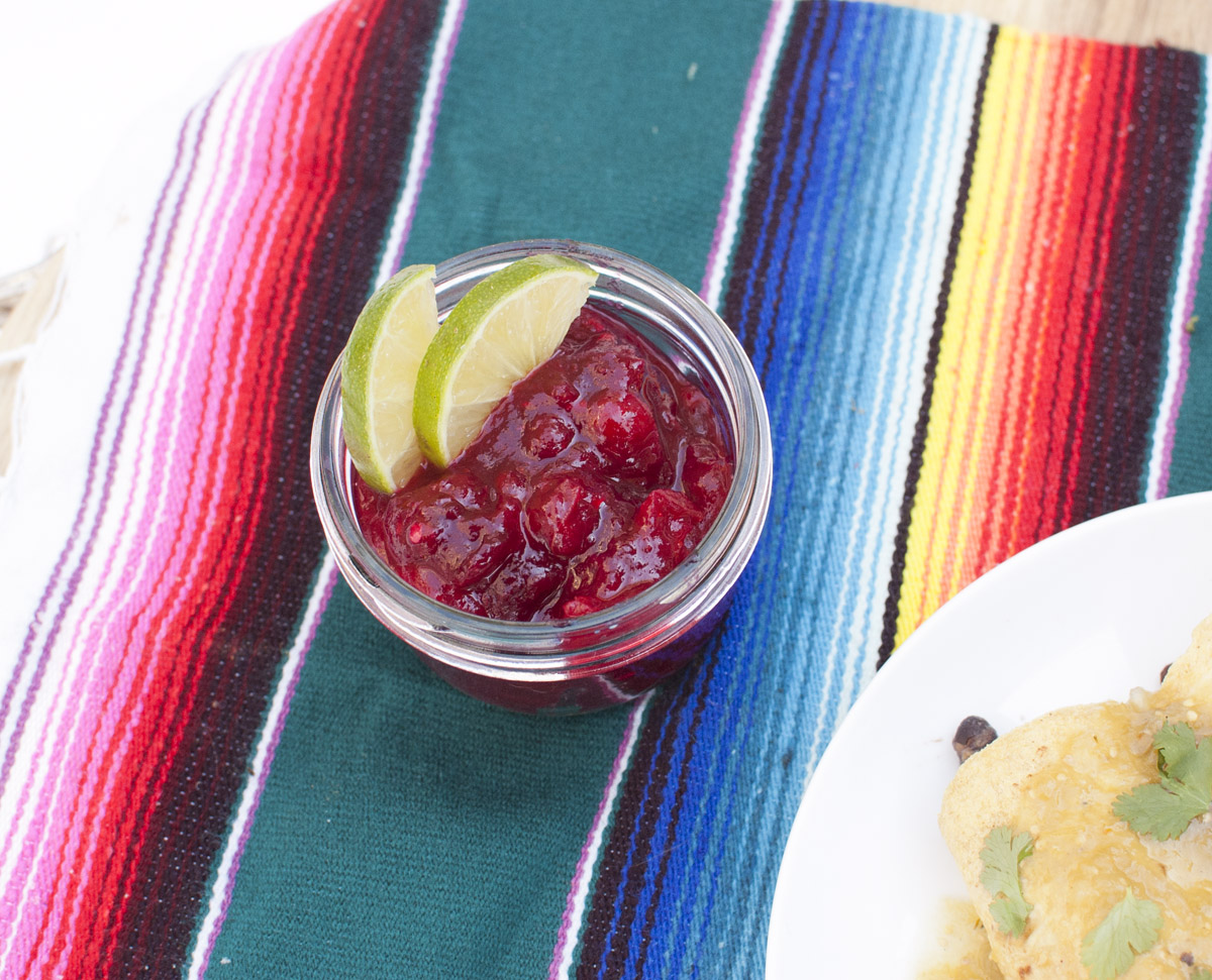 Easy Spicy Cranberry Sauce