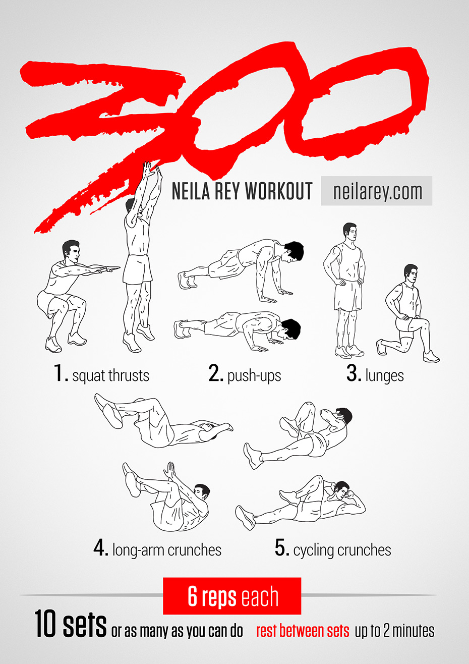 300 Workout by Neila Rey - #E2Challenge