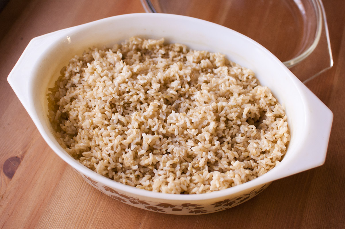 Perfect Baked Brown Rice - Simply Healthy