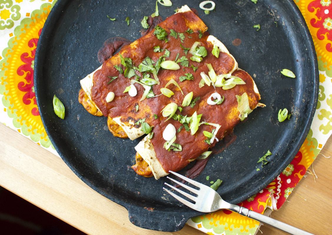 Cheesy Vegan Tex-Mex Enchiladas
