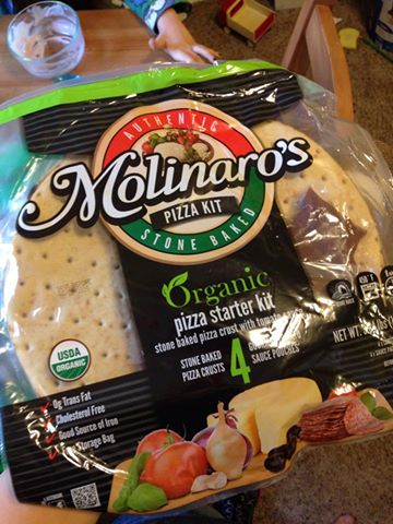 Molinaro's Pizza Crust - vegan (found at Costco)