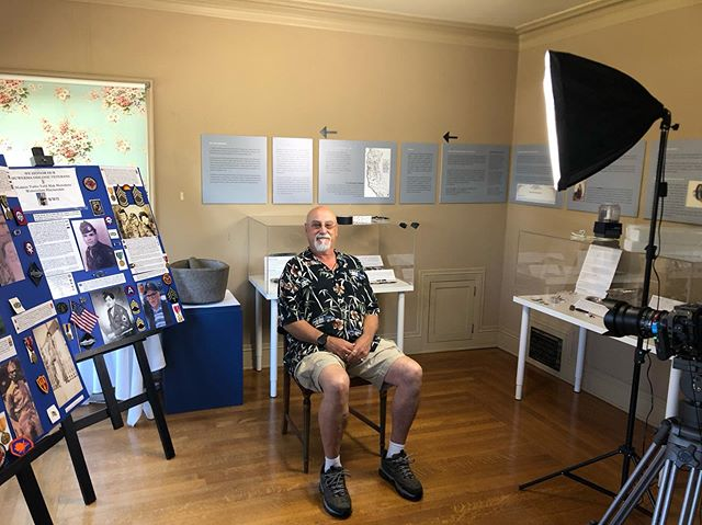 Last interview for the @campbellmuseums video. Alan Leventhal, historian and tribal representative of the Muwekma Tribe. @muwekma_ohlone_tribe