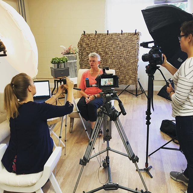 Yesterday we helped @unified_stories film a piece about inclusion and diversity in the workplace, particularly in regards to woman, in the dot com era. Fascinating look into how far woman have come in tech!
