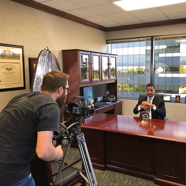 Filming New York Life Insurance's  Silicon Valley General Office Managing Partner Alvin Main video #videography #bayareavideographer #videographer #brandvideo