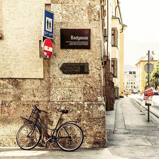 Let's avoid that street 😀  #badgasse #streetname  #street #funny #gas  #innsbruck #austria #travel