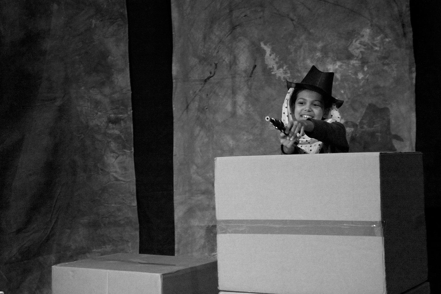Actress: Carmelina Meoli Photograph:  stageshotslondon@gmail.com