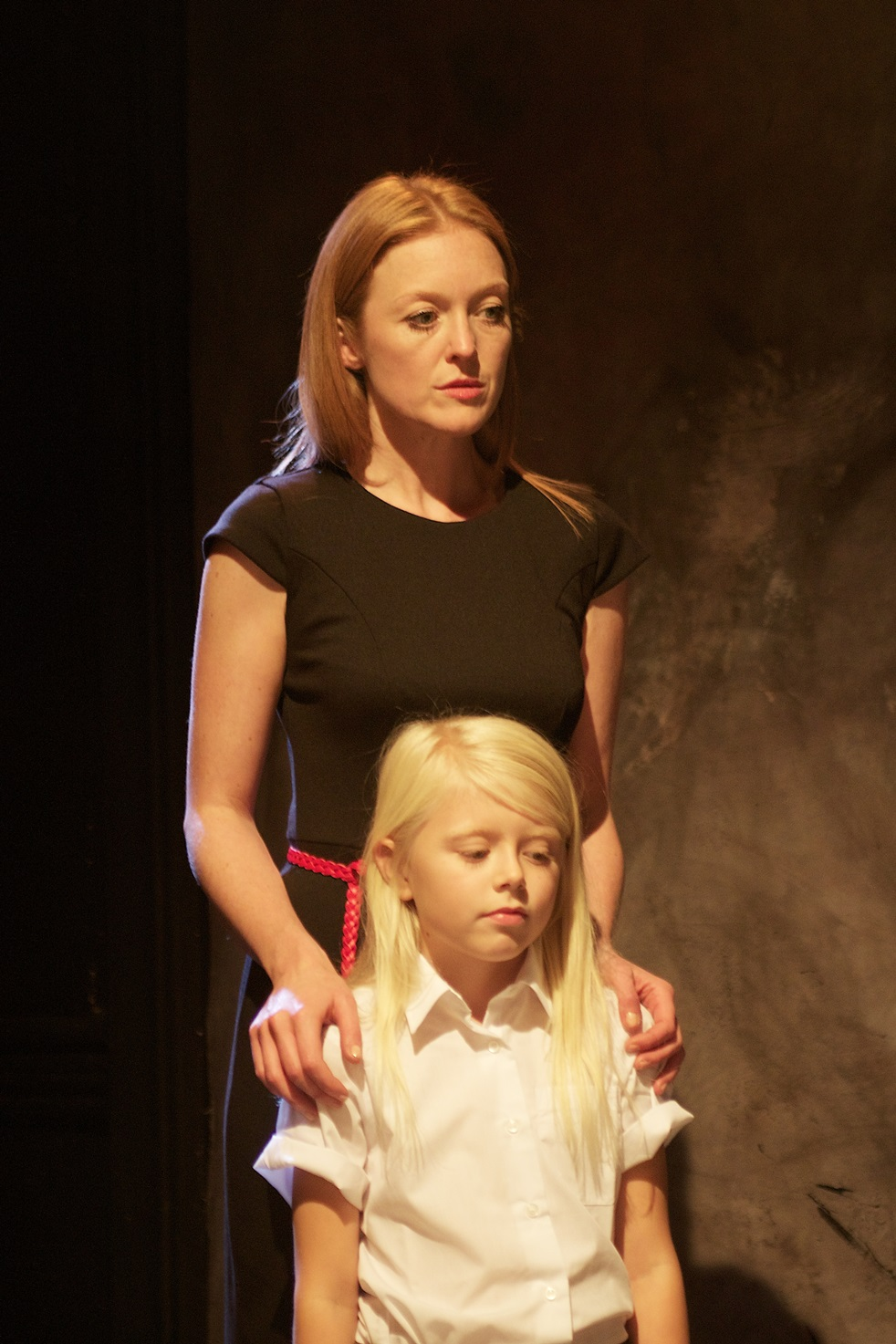 Actresses: Tilly Gaunt & Abigail Cole Jarvie Photograph:  stageshotslondon@gmail.com