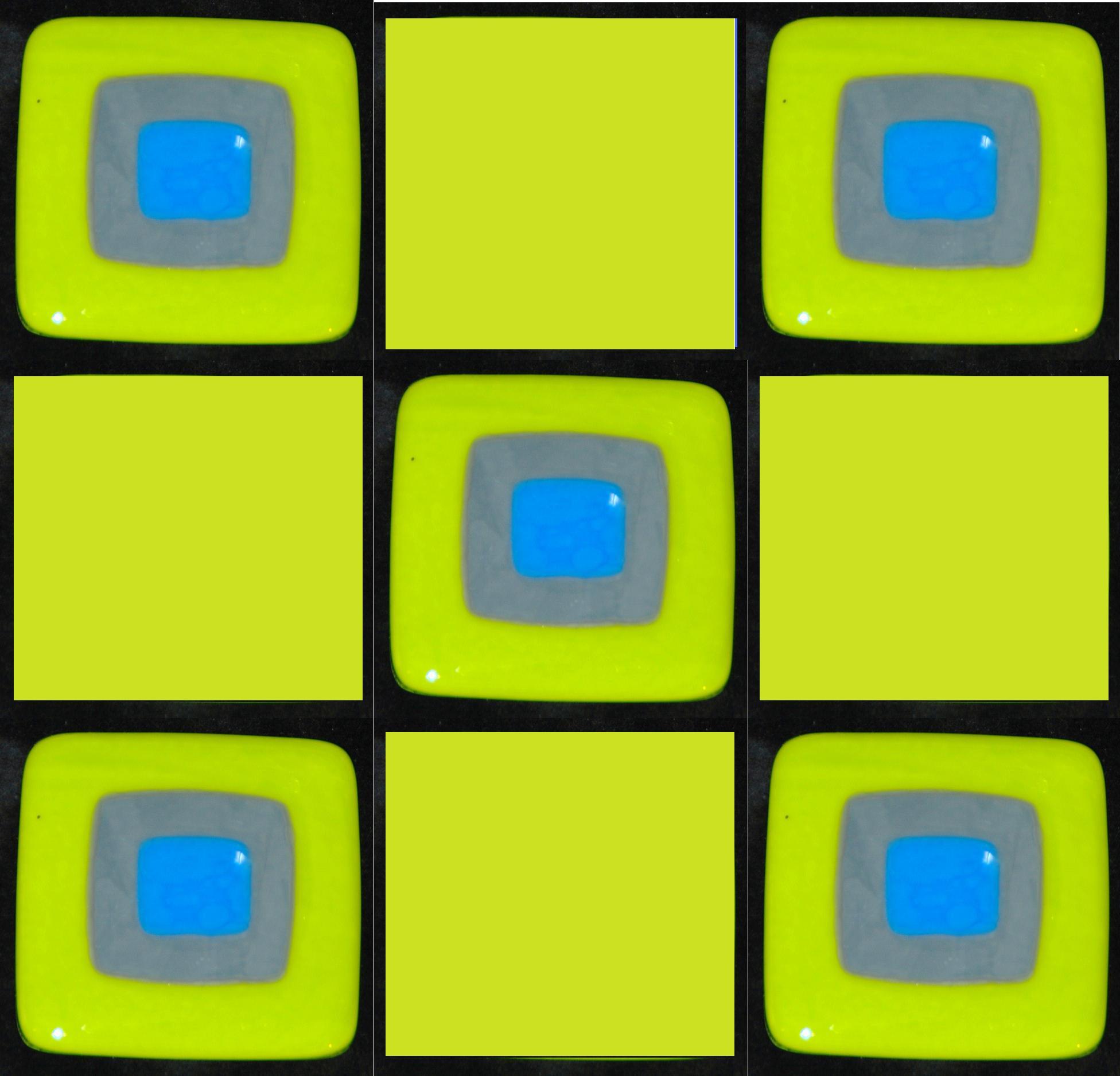 spring on black tiles with green.jpg