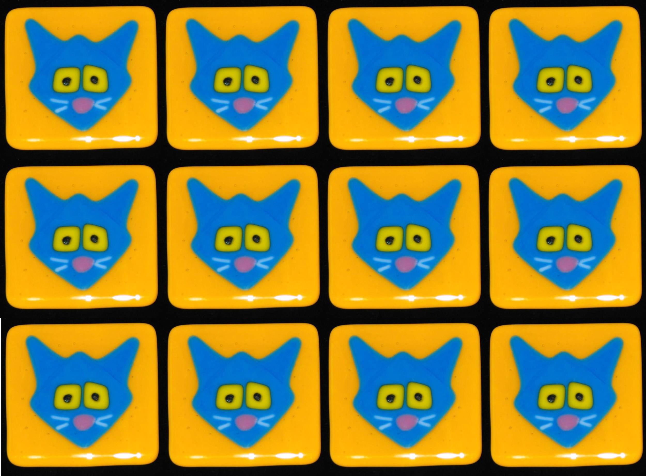 kitties blue on gold.jpg