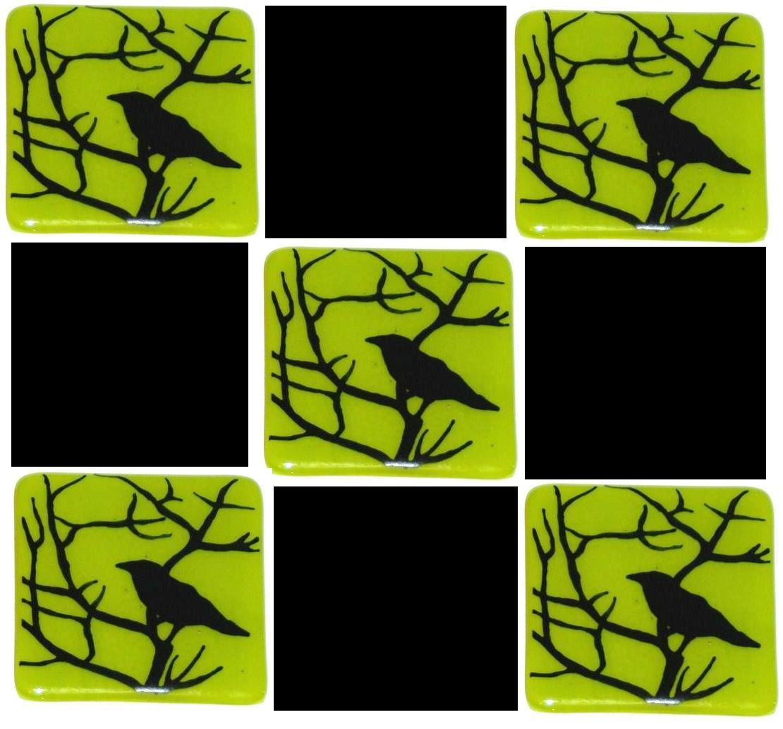 crow in thorn green tiles with black.jpg