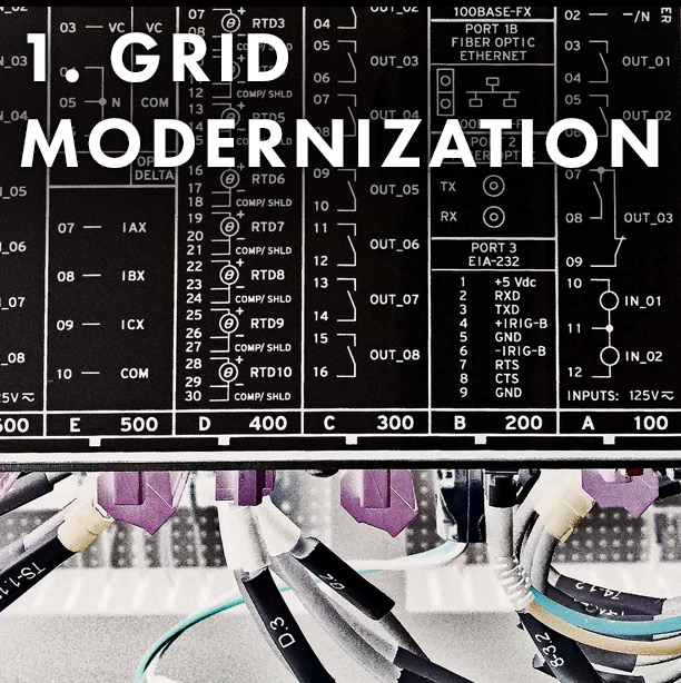 Infrastructure Energy - Creation of a Utility Distribution Microgrid (UDM) Stage 1 - Grid modernization