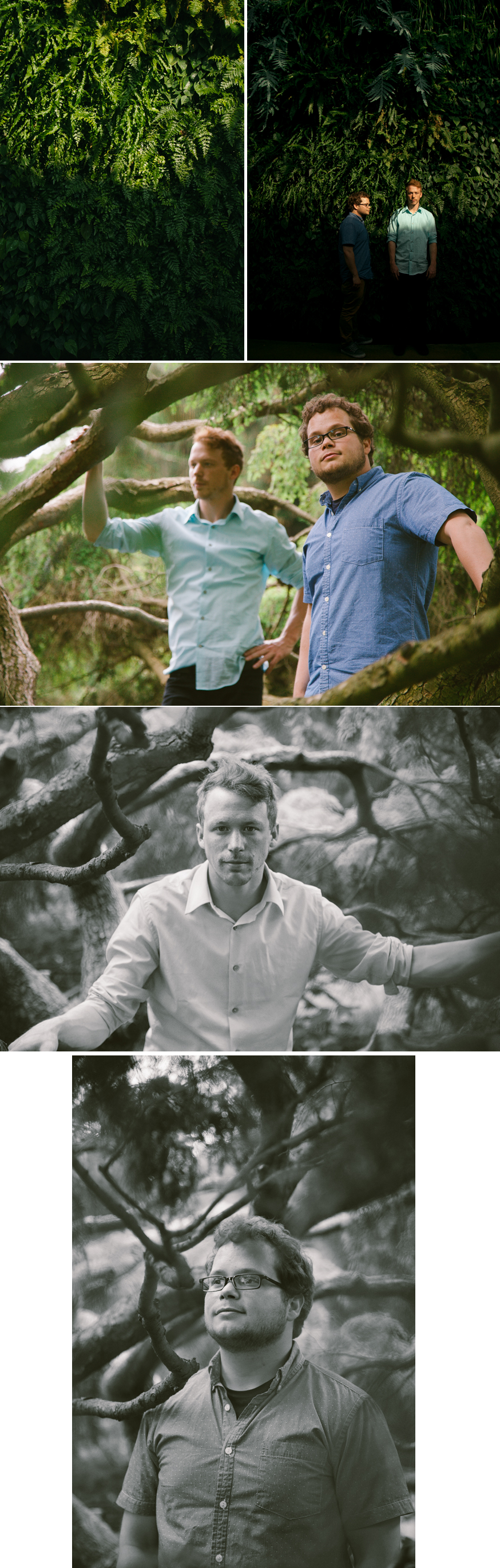 Rick & Sean.  Longwood Gardens