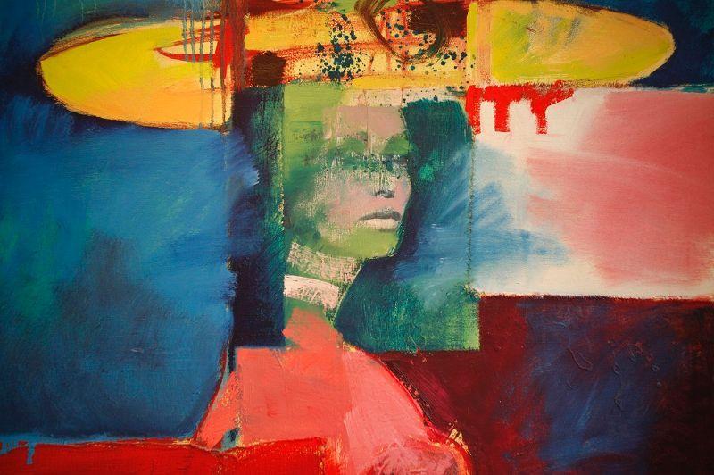 Painting by local artist in Victoria, Deddeda Stemler