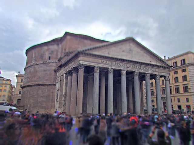 Some Pantheon tilt-shift