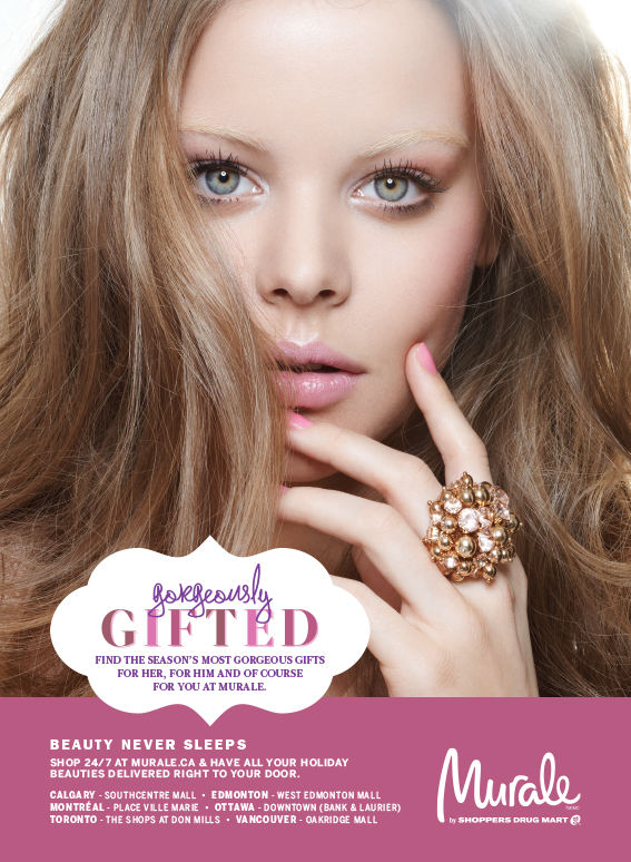 Murale Holiday Glow Magazine Ad