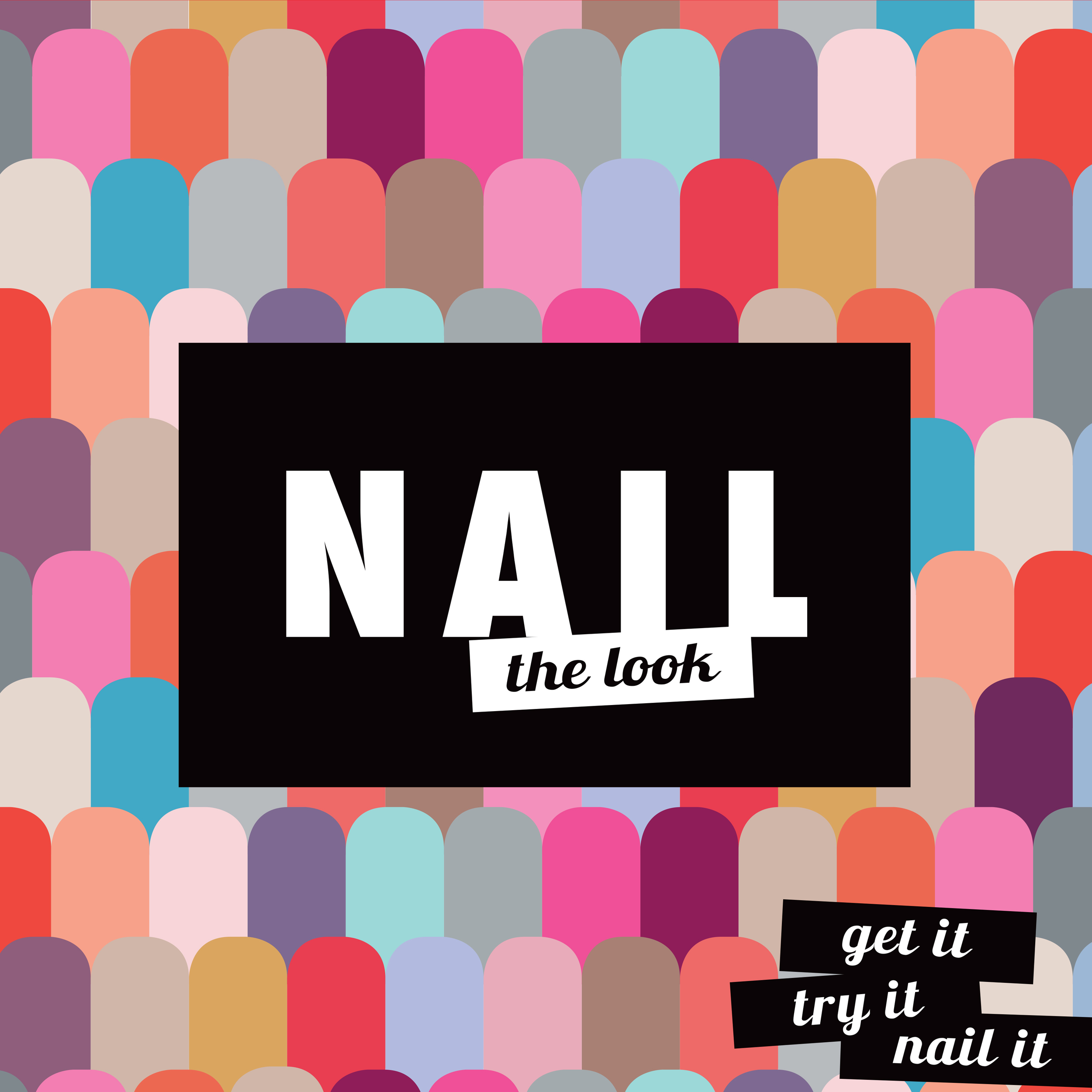 Shoppers Drug Mart Nail Campaign 2015 Quad Display Tipper Cube