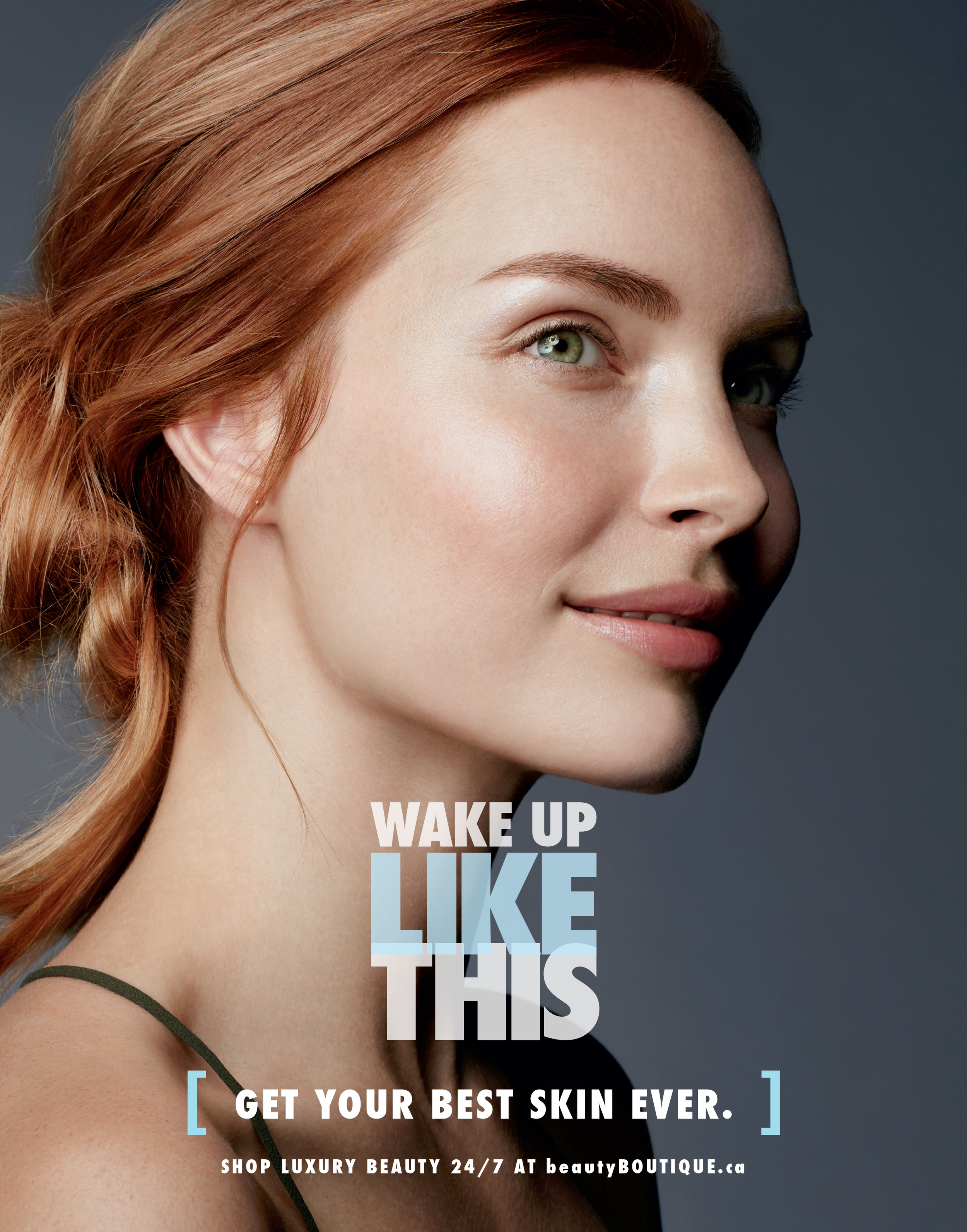 Shoppers Drug Mart Beautiful Skin Campaign 2016 Tstand: 22 x 28