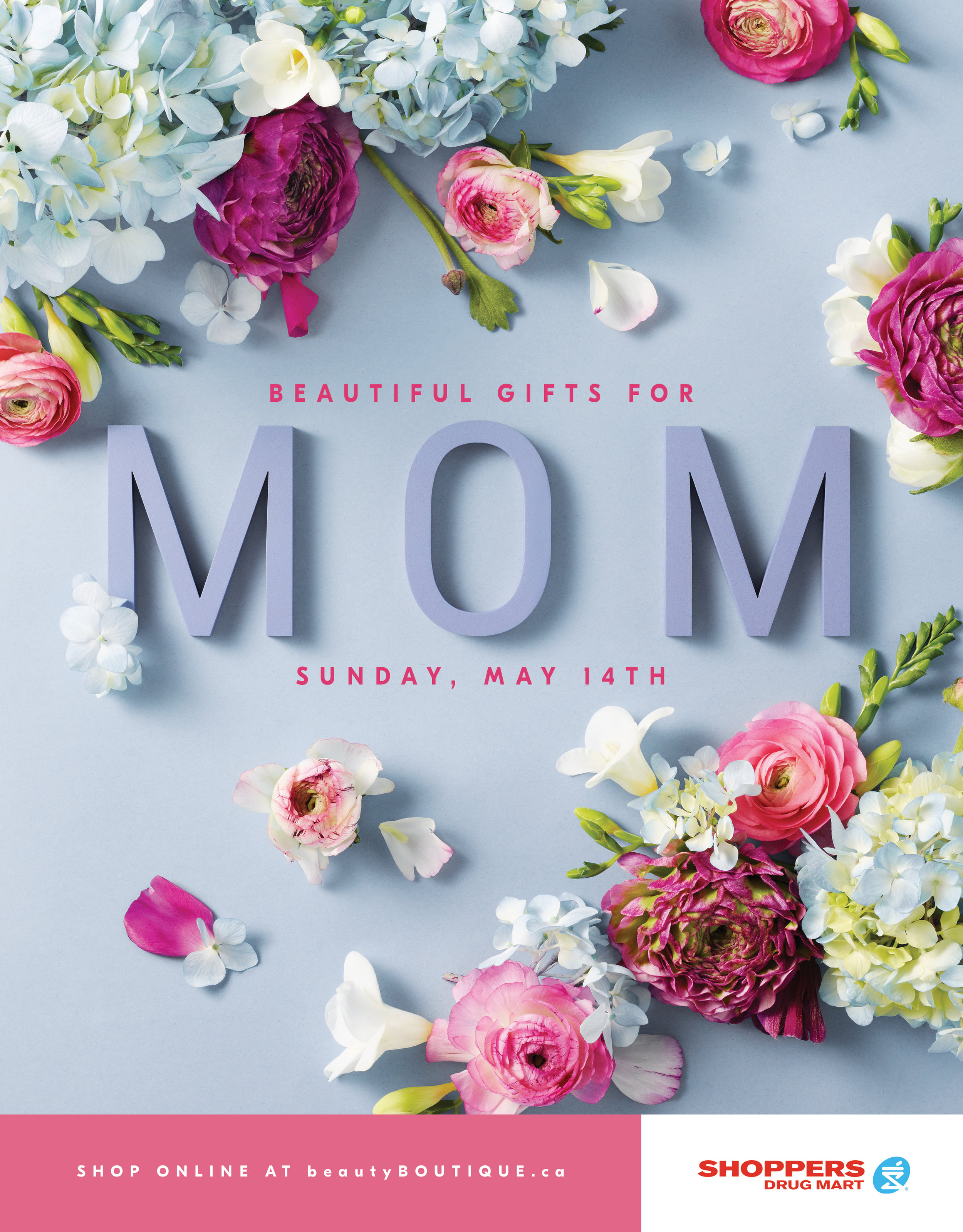 Shoppers Drug Mart Mother's Day 2017 Gift Guide Cover